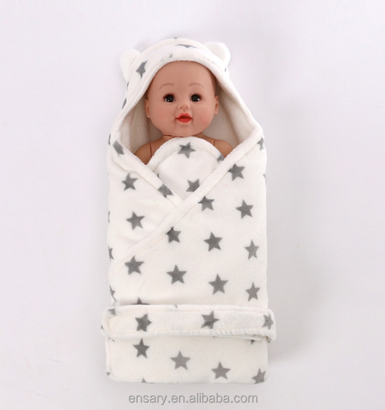 2017 Factory direct selling cotton flannel baby blanket sleeping bag with high quality