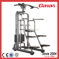 G-627 Ganas Italy Style Heavy Duty Dip/Chin Assist For Commercial Gym