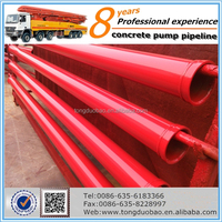 ST52 DN133*4.5 Concrete Pump Seamless Steel Pipe From China Supplier