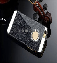 Colorful Luxury Bling Hard Case Glitter Mobile Phone Back Cover Case for iPhone 4 5 6 6 Plus