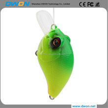 New arrival bait 10g mini size bright-colors soft big frog lure 3D duck fishing lure with logo printing free