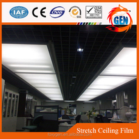 mirror plastic film for restaurant ceiling decorative