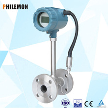 high accuracy pulse output vortex steam flow meter