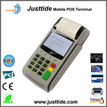 Justtide Factory Price 2G/WiFi/58mm Printer Magnetice Card POS, IC Card POS, NFC Card POS