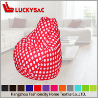 Bean Bag Water Drop Shape Sofa Chairs Wholesale Dots Cheap Low Price High Quality