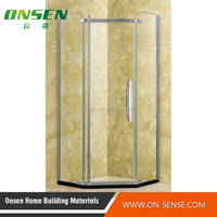 toughened glass shower enclosure hot stainless steel shower enclosure