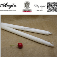the sale of red crown 68g Fluted white candle factory
