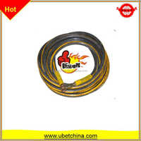 High pressure manufacture wire braided coated rubber, quick connector hose