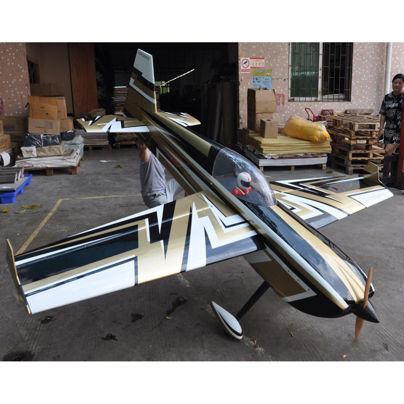 New color SLICK <strong>105</strong>&quot; 120CC-150CC gasoline aircraft model/remote light wood aircraft plane