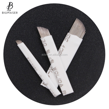 High Quality Tattoo microblading blades permanent makeup eyebrow needles