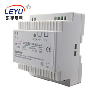 MDR-60-12 CE RoHS 12V 5A mini din rail 60w led driver ac to dc power supply