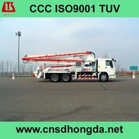 Excellent Performance! Truck-mounted Concrete Pump Truck HDT5401THB-48/5 on Sale