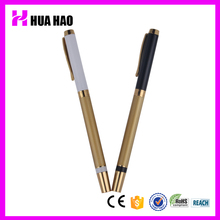 Professional deluxe style golden clip metal pen promotional ball pen metal ballpoint pen for promotion