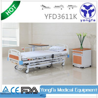YFD3611K Three Function electric hospital manual bed electric nursing bed D11