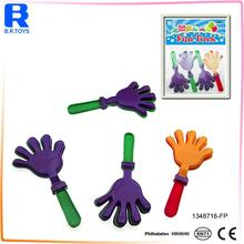 cheap mini plastic bell clappers for kids party toys