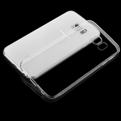 Transparent Clear Plastic Crystal Tpu Back Cover Case For Samsung E7
