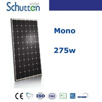TOP 10 solar panel supplier in China! High quality and efficiency solar module 275w