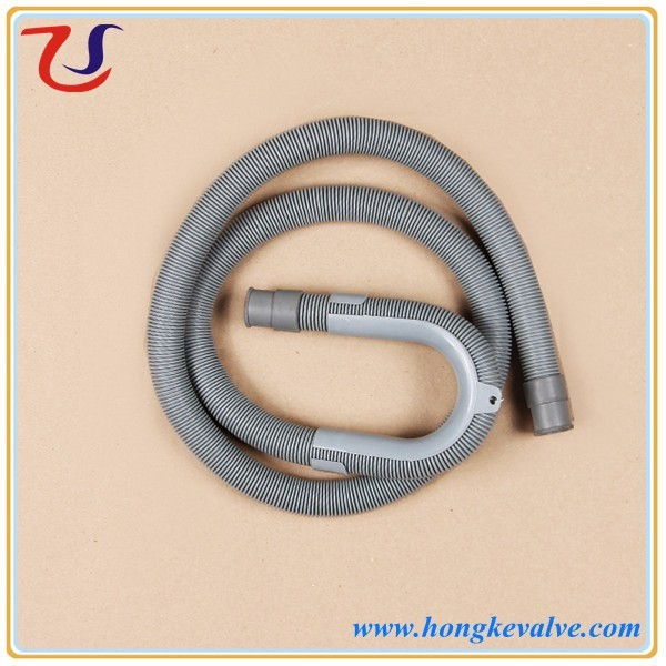 Washing machine flexible connection pipe