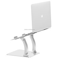 Aluminum Laptop Stand Adjustable Cooling Notebook