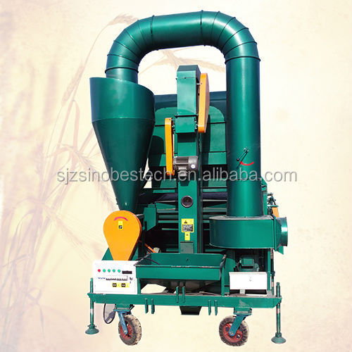 Winnowing cocoa machine seed cleaning machine to processing cocoa bean