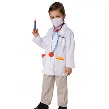 Factory Direct Selling Doctor Costume Boys And Girls Carnival Masquerade Costume