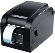 Xprinter barcode sticker printer for price tags/sticky labels XP-350B