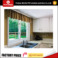 Cheap price cost-effective pvc sliding window with tempered glass