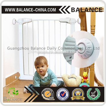 Pressure gates wall bumperfor baby gates