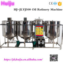 Edible degummed palm soybean sunflower used cooking oil refining machine