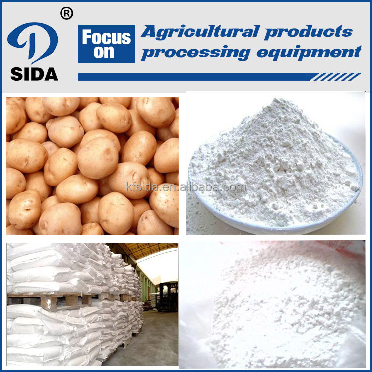High quality potato starch production line