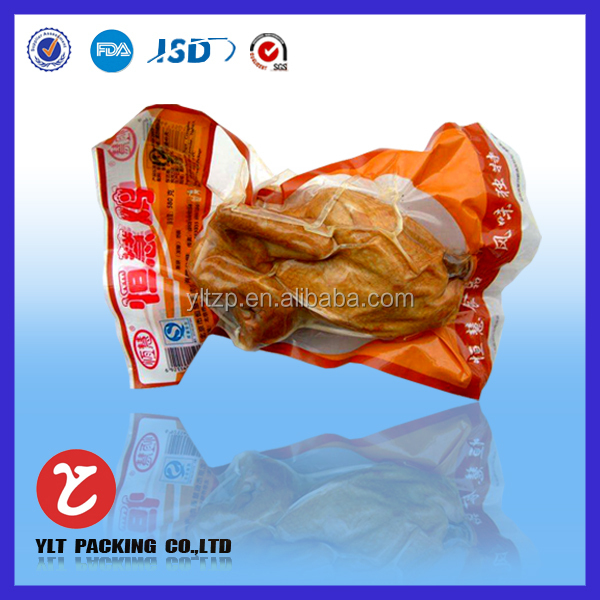 BBQ food packaging bag/frozen food pouch