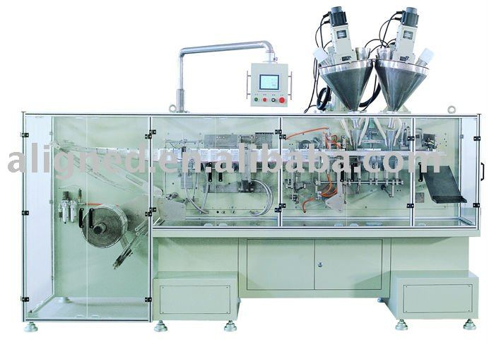 automatic Form Fill Seal Twin-Sachet Horizontal Packing Machine