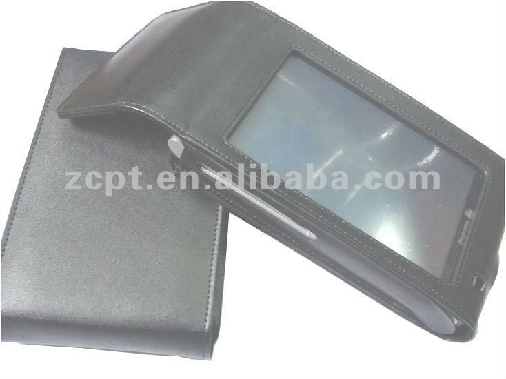 Magnetic Deluxe eBook Leather Pouch
