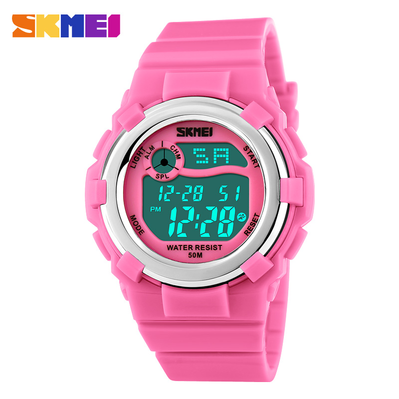 cheap wrist watch for kids waterproof skmei children digital watch instructions latest for girls