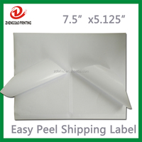 Private Easy Peel Off Shipping Labels Half Sheet for internet USPS eBay