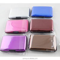card holder made in hard plastic in colorful material ID ,name ,bank card holder