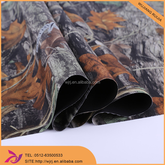 pink camouflage polyester oxford fabric or canas fabric for tents luggage