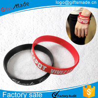 rubber hand band/custom bracelet name different types rubber bands