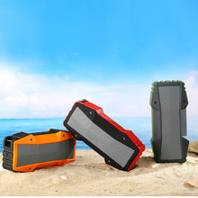 mini NFC Power bank waterproof outdoor portable wireless bluetooth speaker with FM radio