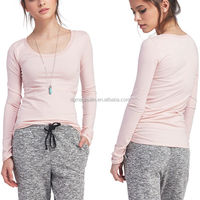 online shopping india good price ladies long sleeve scoop tee