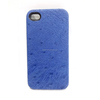 Factory Custom Genuine Ostrich Skin Cover for iPhone6, Fancy Back Cover