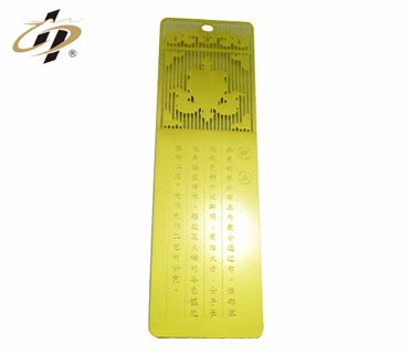 alibaba factory wholesale custom metal 3d silicone pointing finger bookmark
