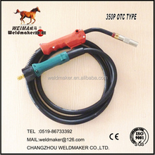 OTC tpye Mig air cooled welding torch/gun