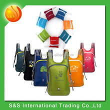 Outdoor Waterproof 14L Shoulder Foldable Nylon Travel Backpack