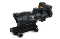 high quality style rifle scope with mini red dot