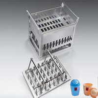Factory Direct Sales Quality Assurance Stainless Steel Ice Cream Mould & Stainless Ice lolly Moulds in ShangHai