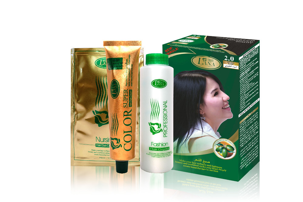 OEM Private Label Professional Salon Use Hair Color Low Ammonia Permanent Organic Hair Dye Hair Color Cream
