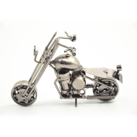 Goods From China Attractive Iron Motorcycle Craft, Simulation Motorcycle Models In Low Price