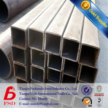 price of Q235 thin wall thickness square tube 1mm thick square steel pipe