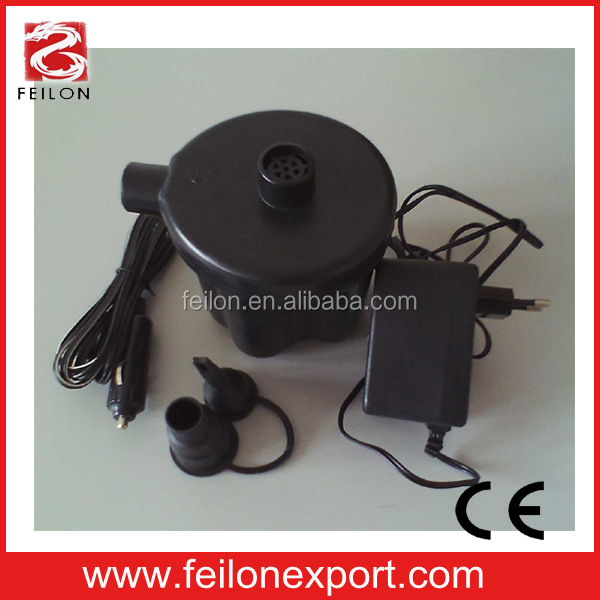 12v+230v electric air bed pump,electronic air pump FL807C-03